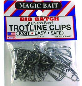 Magic Bait Magic Bait Big Catch Trotline Clips Qty: 25