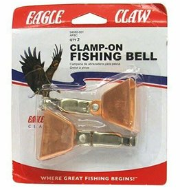 Eagle Claw CLAMP-ON FISHING BELL 04080-001 COPPER