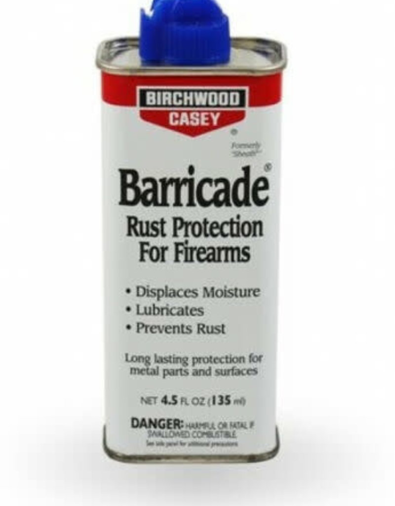Birchwood Casey BIRCHWOOD CASEY BARRICADE RUST PREVENTATIVE 4.5 OZ