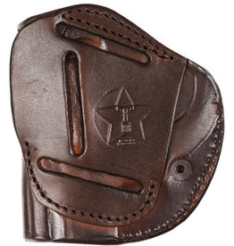 TAGUA GUNLEATHER Tagua 4 Victory Holster M&P Shield & Most SS Compact Pistols, RH, Brown