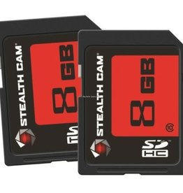 Stealth Cam Stealth Cam 8GB STC-2SD8GB SD Card Pack of 2