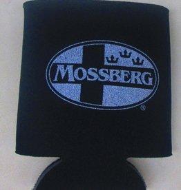O.F. Mossberg & Sons Mossberg Silver Logo Koozie, Black