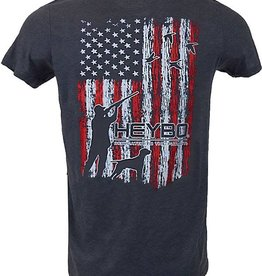 Heybo Outdoors HEYBO MERICA DUCKS,MEDIUM, NAVY BLUE