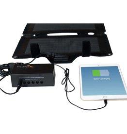 EnerPlex EnerPlex Commandr Portable Solar Charger, 20-Watt Output, Black CR020BK