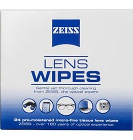 Zeiss Zeiss Lens Wipes 24 pack pre-moistened