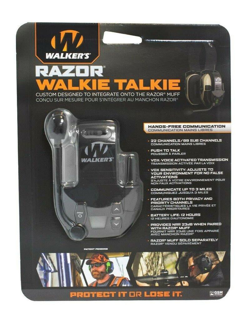 WALKERS GAME EAR Walkers Game Ear GWP-RZRWT Razor Walkie Talkie