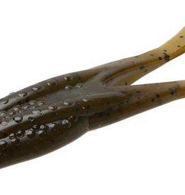 """ZOOM BAIT ZOOM 4 1/4"""", 5Pk, Green Pumpkin 083025 Horny Toad Topwater"""