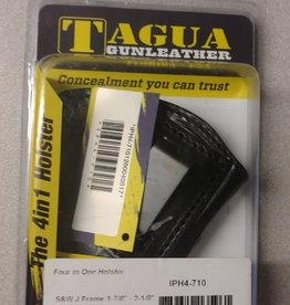 TAGUA GUNLEATHER TAGUA 4-IN-1 HOLSTER SW J FRAME 2-1/8IN BLACK RIGHT HAND