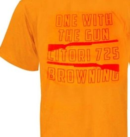 Browning Browning Orange One With The Gun Graphic-Tee Men's L