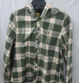 Browning Browning Men's Plaid Green/cream Jacket L