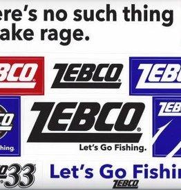 ZEBCO CORP. Zebco Fishing Decal Sticker Sheet 9