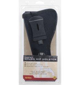 ALLEN COMPANY Allen Cortez Nylon Pistol Holster Size 3 Black 44803