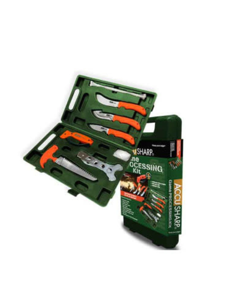 Accusharp Knife and Tool Sharpeners Accu-Sharp Game Processing Kit