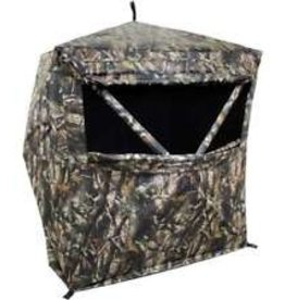 "HME HME 2 Person Hub Ground Blind Pop Up 62"" x 62"" x 66"" Camo Hunting GRDBLND2"