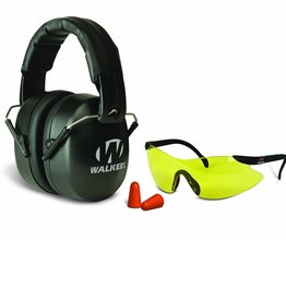 Walker's Walkers EXT Game Ear Plugs Range Muff and Glasses Combo GWP-FM3GFP