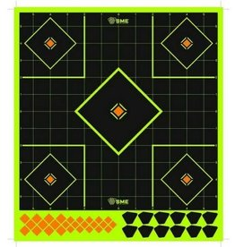 "SME SME SME-TRG-12FDS Splatter Target 12"" x 5"" w/ 39 Stickers (6 Pack)"