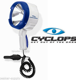 Cyclops Cyclops 1400 Lumens 12V Marine Handheld 100 W Halogen Spotlight