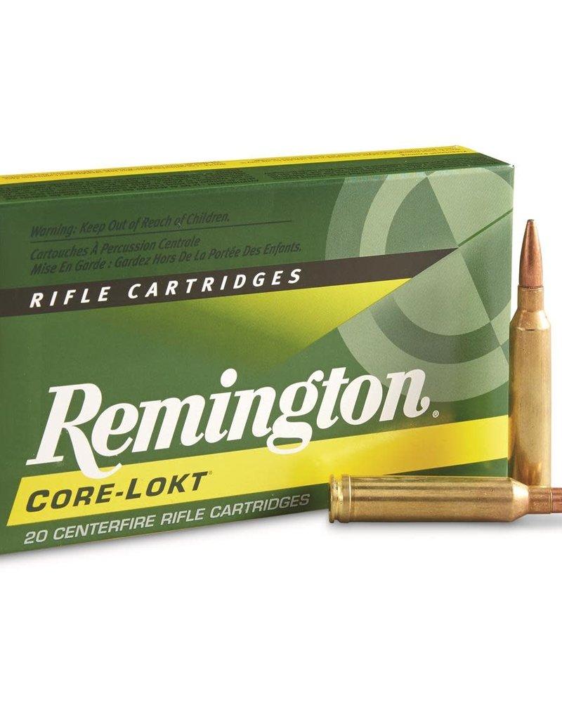 REMINGTON ACCESSORIES Remington Core-Lokt Rifle Cartridges,20 Pk