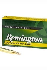 REMINGTON ACCESSORIES REMINGTON CORE-LOKT RIGLE CARTRIDGES,20PK,25-06 REMINGTON,120 GRAIN