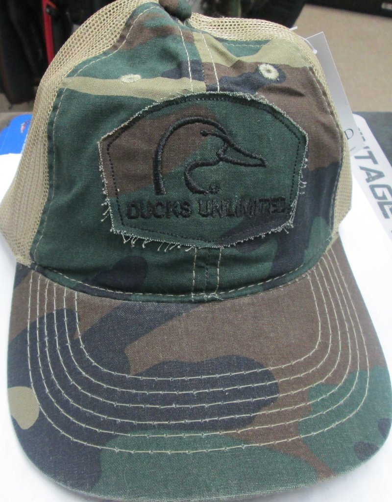 Ducks Unlimited DUCKS UNLIMITED Old School Camo Trucker Hat
