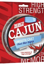 ZEBCO CORP. ZEBCO CAUN SMOOTH CAST CLEAR BLUE BAYOU 10 LBS  330 YDS FISHING LINE