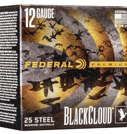 Federal Ammunition BlackCloud 12GA 25 STEEL SHOTGUN SHELLS
