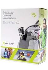 Brackertron Brackerton Twist X 360 Clip Mount - Universal - Fits GoPro Action Cameras