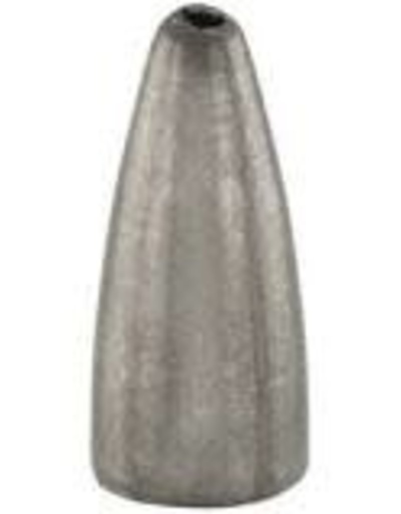 Bullet Weights BULLET WEIGHTS WORM LEADS IN ZIP LOCK BAGS   BW18-NATURAL 1/8 OZ. - 12/BAG