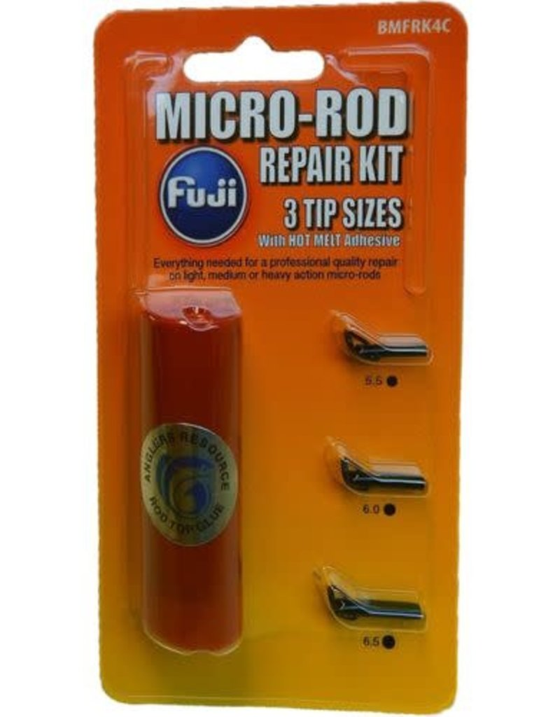 Fuji Fuji Kit Glue & 3 Topsi BMFRK4C Black Micro Rod Repair
