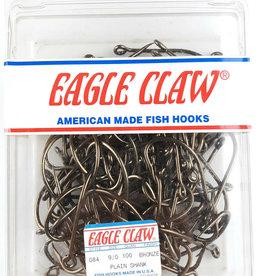 Eagle Claw PLAIN SHANK OFFSET 084-9/0 BRONZE,QTY 100