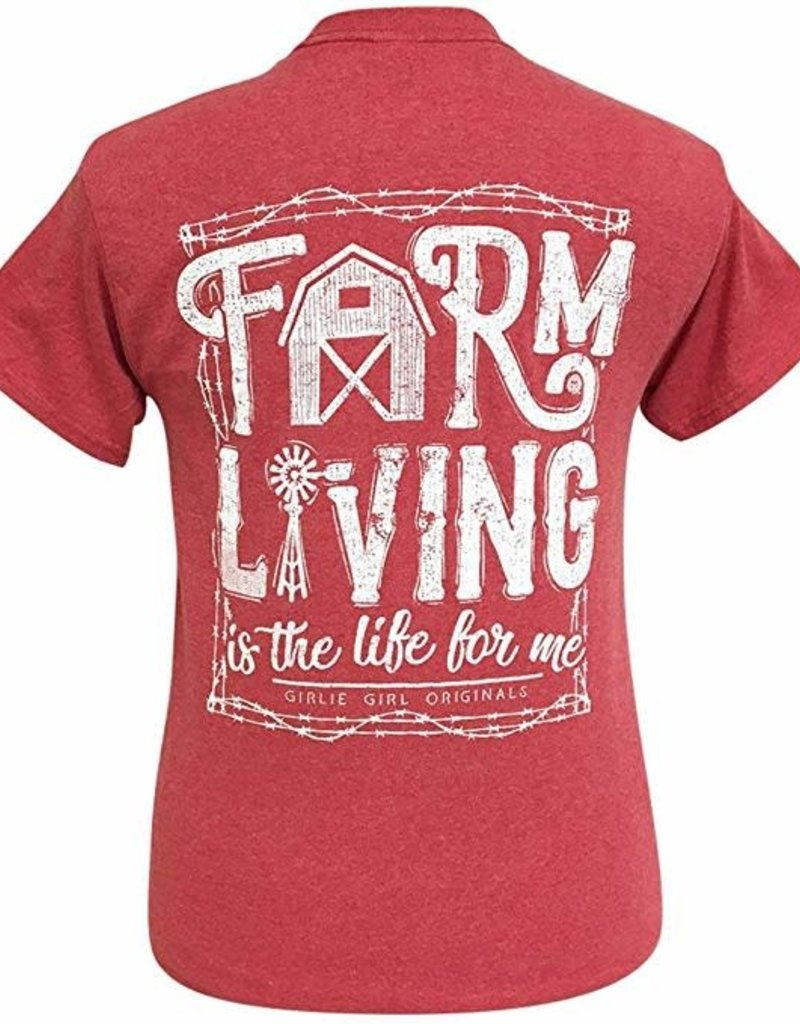 Girlie Girl Girlie Girl Farm Living , Short Sleeve,Medium
