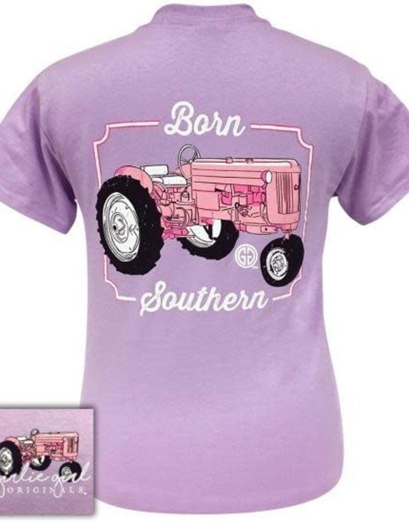 Girlie Girl Girlie Girl Preppy Born Southern Tractor XL Tee