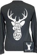 Girlie Girl Deer Season, Long Sleeve, Large