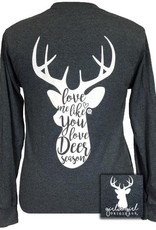 Girlie Girl Deer Season, Long Sleeve, XLarge