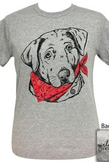 Girlie Girl Paisley Bandana Lab,SS,Small