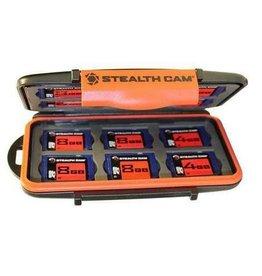Stealth Cam STEALTHCAM MCSC-8GB4PK 16 CARD SLOT CASE W/(4) 8GB SD CARD