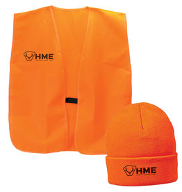 HME HME Safety Vest & Cuffed Beanie One Size