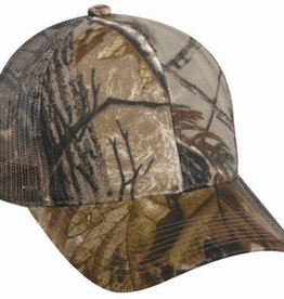 Mossy Oak Outdoor Cap Infinity Mesh Back Hat, Mossy Oak Break-Up