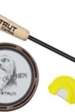 HS Strut Raspy Old Hen Glass Pan Call