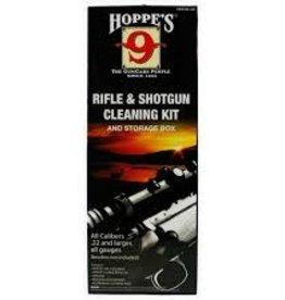 HOPPE'S Hoppe's Rifle & Shotgun Cleaning Kit Storage box .22 and Larger