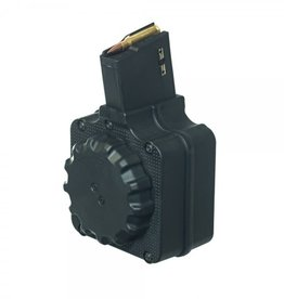 ProMag Industries ProMag DPMS LR-308 Drum Magazine .308 Win/7.62 NATO 50 Rounds Polymer Black DRM-A1