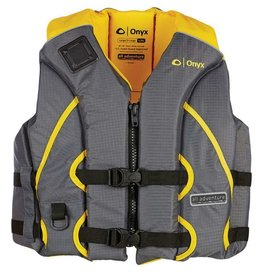 Absolute Outdoors Absolute Outdoors Onyx All Adventure Shoal Vest Yellow L/Xl