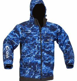 Absolute Outdoors Absolute Outdoors Onyx Hydrovore Fishing Rain Jacket,X-Large