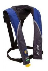 Absolute Outdoors Absolute Outdoors M24 Vest Blue Manual Inflatable Type III