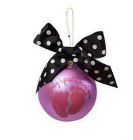 Simply Southern Simply Southern Baby Girl Christmas Ornament