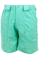 Heybo BAY Fishing Shorts Seafoam,Size 30