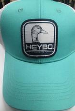 Heybo summit series duckhead hat celedon/white