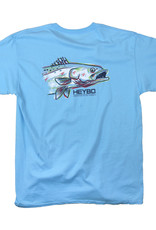 Heybo Painted Sea Trout,Youth Medium,SS
