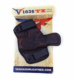 TAGUA GUNLEATHER tagua glock 43/42 sig 365 and similar sized pistols brown, R/H