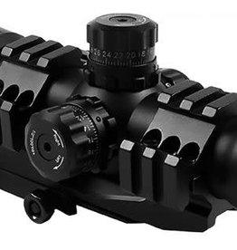 Target Sports TRI-ILLUMINATED SCOPE WITH CANTILEVER MOUNT 1.5-4X30